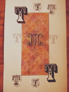 Шрифты Композиция Буквы