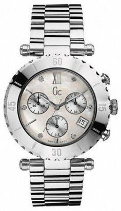 Guess Collection Ladies Diamond Watch G36001L1 GUESS. $350.00. Chronograph Display. Steel Bracelet Strap. Water Resistance : 3 ATM / 30 meters / 100 feet
