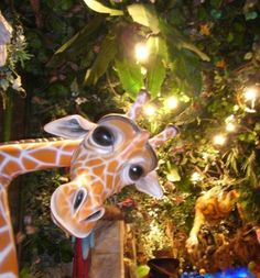 Rainforest Cafe Disneyland Resort Paris (Interior view)
