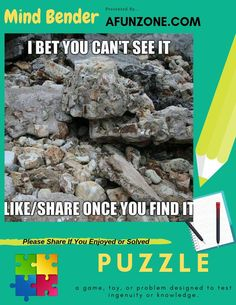 #picture #hidden #spot #puzzle #game #mindbender #fun #seashore #rocks #beach #ocean Solve Our Mind Bender Here: