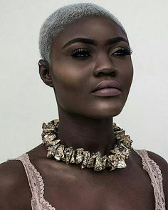 Liberian model Tamie Lawson Proudly Liberian Star View, Supermodels, Crochet Necklace, Female, Stars, Celebrities, Jewelry, Fashion, Crochet Collar