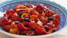 Peperonata ~ Stewed bell peppers - Organic Tuscany Cookbook