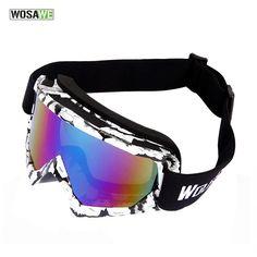 1ecd3cf6cdcb WOSAWE Ski Goggles UV400 Anti-fog Big Ski Mask Glasses Skiing Men Women Snow  Snowboard Goggles  Affiliate