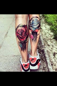 Love this. So original but yet a classic tattoo. Would definitely get this same placement