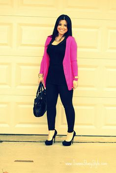 """curvy      """"if you like my curvy girl's fall/winter closet, make sure to check out my curvy girl's spring/summer closet.""""   http://pinterest.com/blessedmommyd/curvy-girls-springsummer-closet/pins/"""