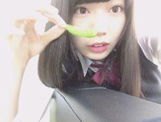 [高本 彩花] 冷凍の枝豆がすごく好き