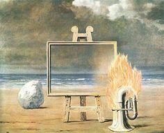 The Fair Captive Rene Magritte