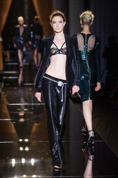 Versace Haute Couture runway fashion Fall 2013