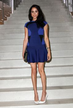 NEW YORK, NY - JULY 17: Actress Meghan Markle attends 'Tales Of Endearment' Celebration Hosted By Diane von Furstenberg at DVF Accessories Shop on July 17, 2013 in New York City. (Photo by Monica Schipper/Getty Images) via @AOL_Lifestyle Read more: https://www.aol.com/article/entertainment/2017/04/13/prince-harry-visits-meghan-markle-in-toronto-ahead-of-easter-wee/22038930/?a_dgi=aolshare_pinterest#fullscreen