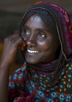 Afar Tribe Woman, Assaita, Afar Regional State, Ethiopia | © Eric Lafforgue
