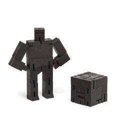 Areaware cubebot small zwart