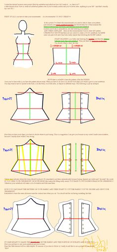 Underbust Tutorial by ~Hebi87 on deviantART