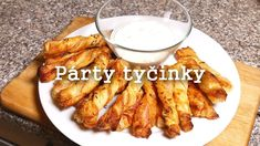 Párty tyčinky - Rychle a levně New Recipes, French Toast, Food And Drink, Drinks, Breakfast, Youtube, Finger Food, Food And Drinks, Food Food