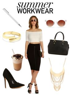 """""""Summer Workwear"""" by windsorstore on Polyvore"""