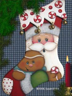 Santa Stocking ePacket - Click Image to Close