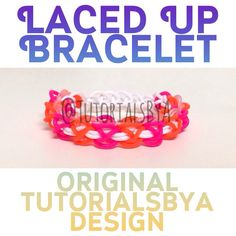 Laced Up bracelet - video tutorial
