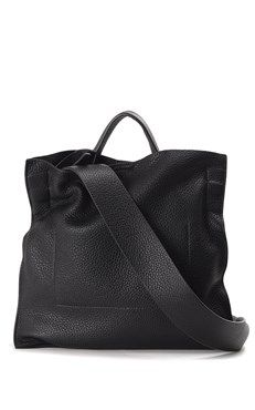 JIL SANDER :: Xiao leather crossbody bag
