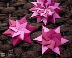 Modular Origami Stars | by credo_vsegda