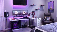 Double monitor setup