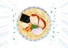 Japanese Snack Pack - Ramen Japanese Snacks, Japanese Food, Snack Pack, Ramen, Around The Worlds, Nice, Illustration, Instagram, Japanese Dishes