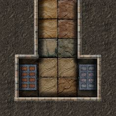 Dundjinni Mapping Software - Forums: Probono's Tiles - my turn - New Ones Fantasy Map, Medieval Fantasy, Fantasy World, Dnd Dragons, D&d Dungeons And Dragons, Dungeon Tiles, Dungeon Maps, Rpg Map, Adventure Map
