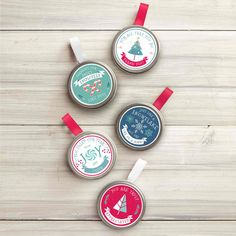 Spread a little holiday cheer with these petite seed tin ornaments! Use them as a gift on their own or add to a gift! Each tin includes seed, ribbon hanger, and directions. Easy Ornaments, Homemade Ornaments, Christmas Ornaments To Make, Christmas Crafts For Kids, Xmas Crafts, How To Make Ornaments, Kids Christmas, Holiday Fun, Holiday Gifts