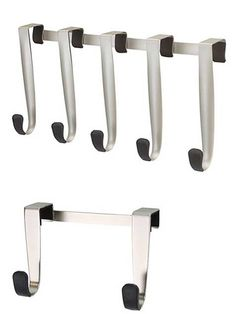 InterDesign 56270 Axis Over Cabinet Basket Bathroom Hardware Set ...