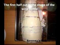 ▶ Wine bottle cake tutorial from Browny's Cakes - YouTube
