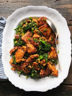 Spiced Chicken with Broccolini Stir Fry – Inspiration for Everyday Food Made Marvelous