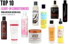 meilleur leave-in pour cheveux crépus, sélection produits curlidole