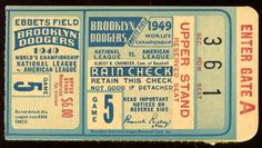 {vintage design}  {ticket}  //  #Vintage #GraphicDesign #Inspiration