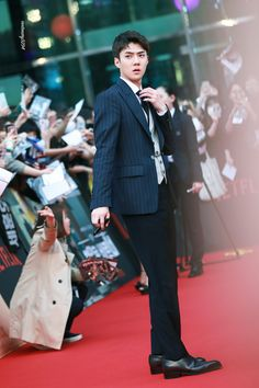 180430 #SEHUN @ Netflix 'Busted' Red Carpet #BUSTED_SEHUN