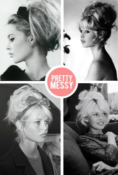 i often think to myself, life would be a lot easier if i rolled out of bed with Brigitte Bardot hair. le sigh.