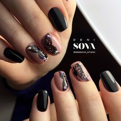 Patterned Prom Nails Art picture 4