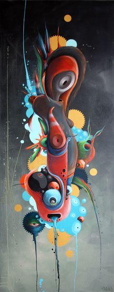 Paintings 2012 by Philip Bosmans