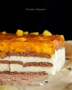 Polish Recipes, Polish Food, Cheesecakes, Cake Cookies, Vanilla Cake, Sweet Tooth, Dessert Recipes, Food And Drink, Cooking Recipes