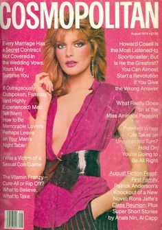August 1979 cover with Rene Russo photographed by the late Francesco Scavullo