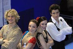 fyeahvirtueandmoir:  setosnicegirl:  Meryl Davis, Charlie White, Tessa Virtue, and Scott Moir.  I love the OT4!