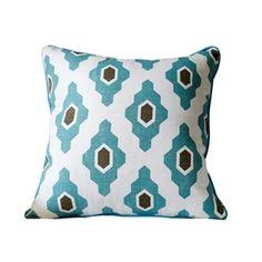 Motif géométrique mode couverture oreiller linge de coussin