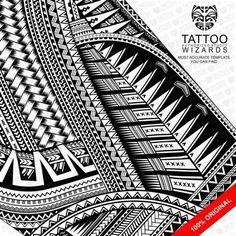 Incredible Vector Maori and Samoan Tattoo Templates, Tattoo equipment etc.