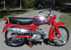 My first bike was a used Honda 65. I worked on it every other weekend to keep it running.