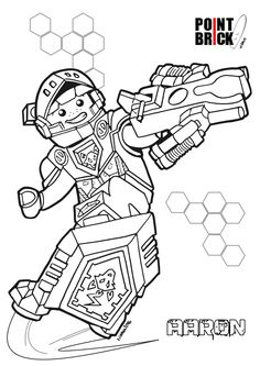 Coloring Page Lego Nexo Knights Jestro Coloring Pages
