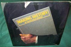 "Vintage 12"" Reggae Dub Poetry Vinyl LP Album LKJ Linton Kwesi Johnson Making History 1984 Rare Island #Reggae Record"