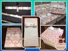 Alê Alê Artes: Caixas de MDF forradas com tecido