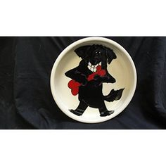 """Water Bowl, 8"""" Dog Bowl for Food or Water. Personalized at no Charge. Signed by Artist, Debby Carman. ~ You can click image for more details. (This is an affiliate link and I receive a commission for the sales)"""