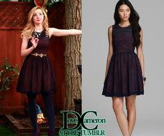 """Dove (as Liv) actually wore this EXACT eyelet dress on Liv & Maddie """"Steal-A-Rooney"""" & """"Shoe-A-Rooney"""" & not the Banana Republic one matched previously. French Connection Eyelet Embroidery Dress Sold out  Available on Poshmark insize 12 Available on eBay insize 10"""