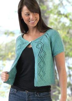 Diamond Lace Cardigan