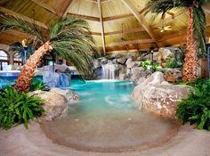 cascada de piscina - Buscar con Google