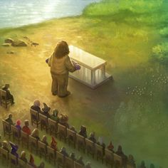 Dumbledore's funeral