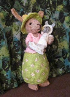 Avec de la laine: Mother bunny